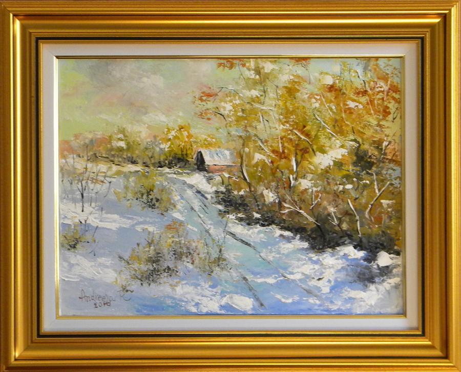 Picturi de iarna AMINTIRI DE IARNA
