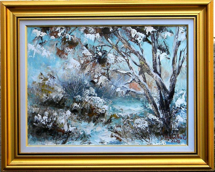 Picturi de iarna  DE IARNA