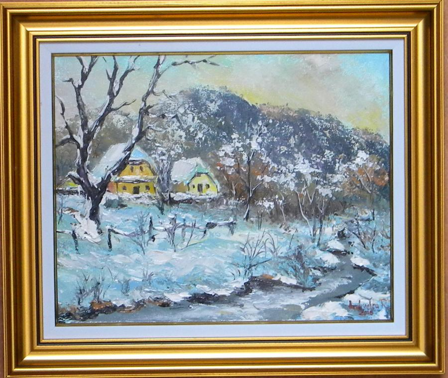 Picturi de iarna IARNA LA SALISTE