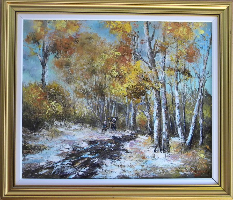 Picturi de iarna IN GRABA IERNII
