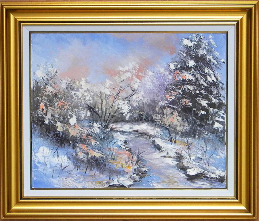 Picturi de iarna VIZIUNE DE IARNA