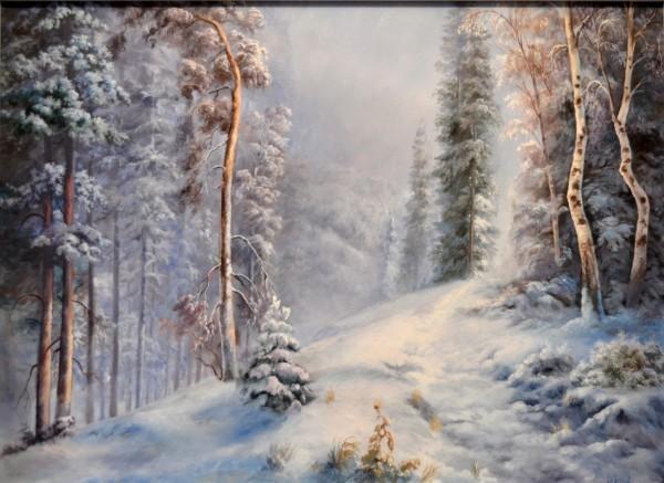 Picturi de iarna Iarna in munte