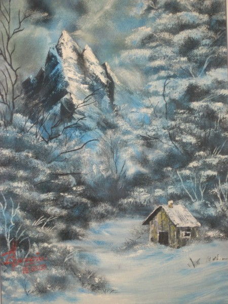 Picturi de iarna Hibernala
