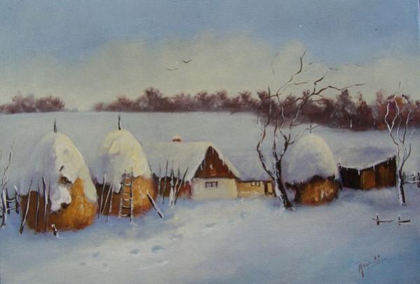 Picturi de iarna Iarna , capite