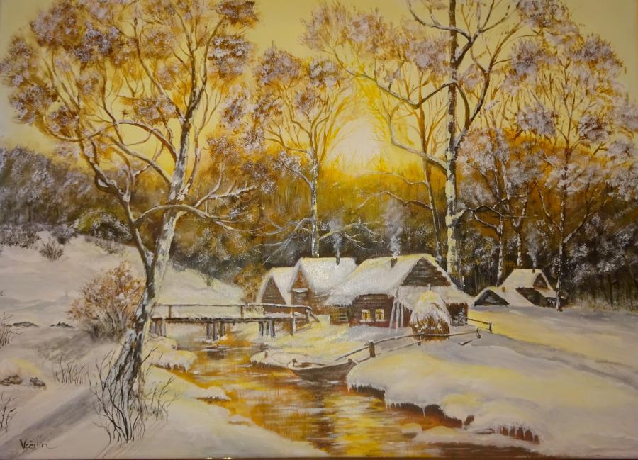 Picturi de iarna Feerie de iarna
