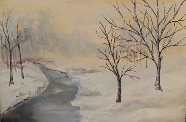 Picturi de iarna Iarna geroasa
