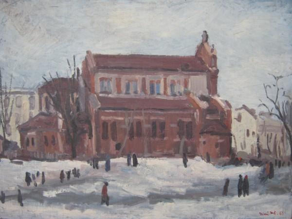 Picturi de iarna Catedrala sfantul iosif