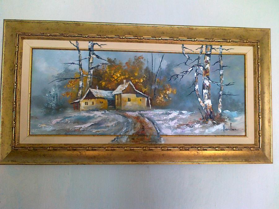 Picturi de iarna iarna  3
