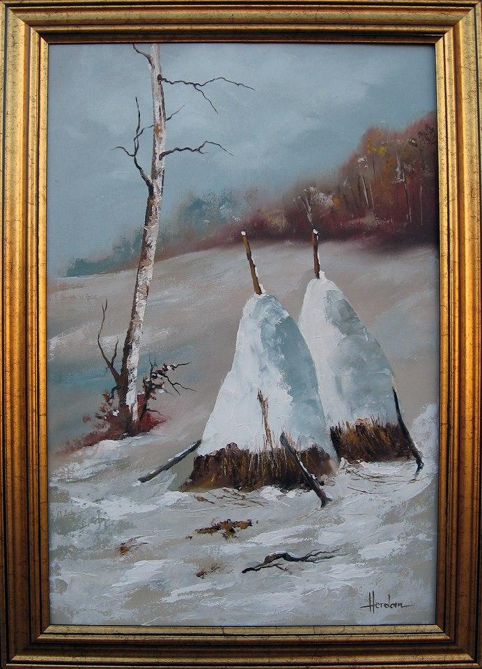 Picturi de iarna iarna 9