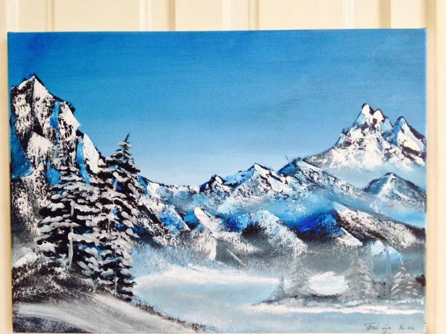 Picturi de iarna Iafedec