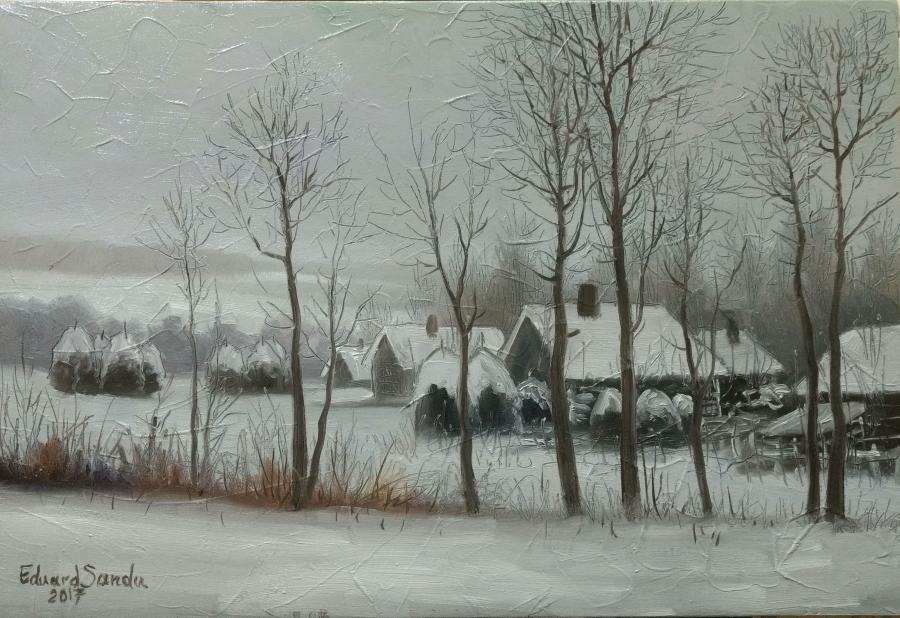 Picturi de iarna HIBERNALA RURALA 2017