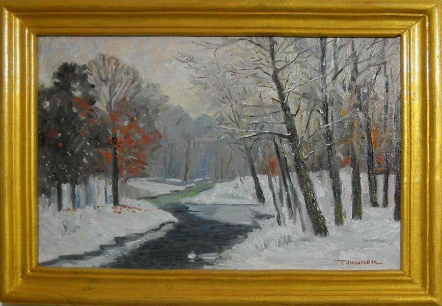 Picturi de iarna zapada in padure 4