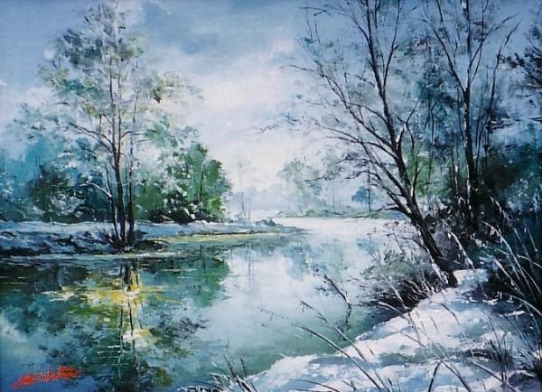 Picturi de iarna Iarna- 9