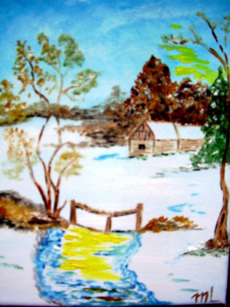 Picturi de iarna Sclipiri de iarna