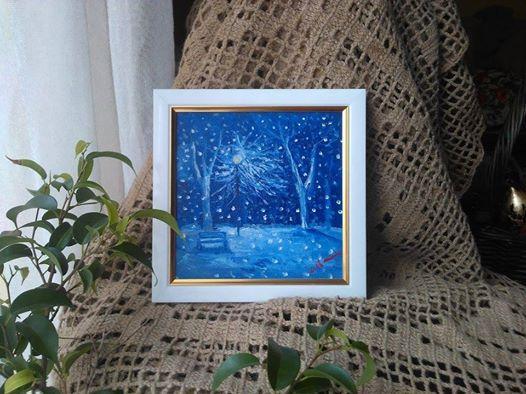 Picturi de iarna Inserare sfanta