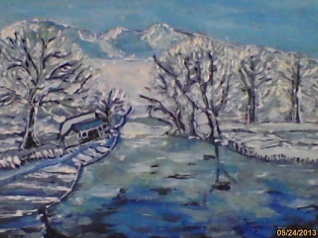 Picturi de iarna IARNA LA TARA_2