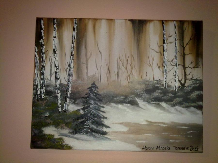 Picturi de iarna iarna sepia