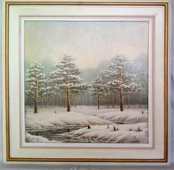 Picturi de iarna Zi de iarna