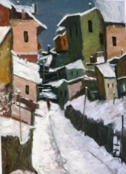 Picturi de iarna Iarna in bucuresti 2