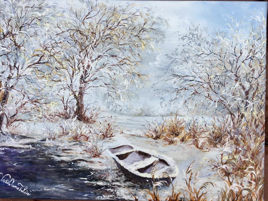 Picturi de iarna Iarna de demult