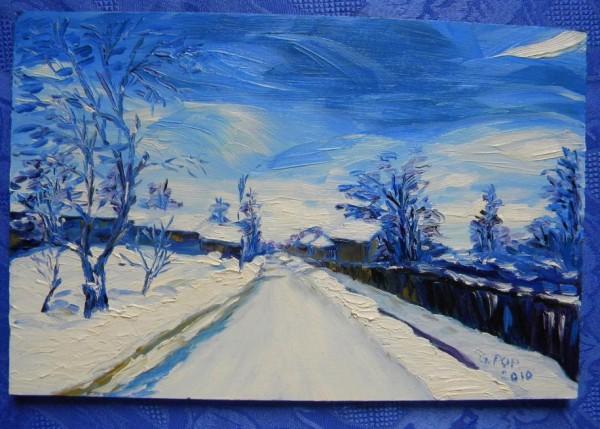 Picturi de iarna Iarna 8