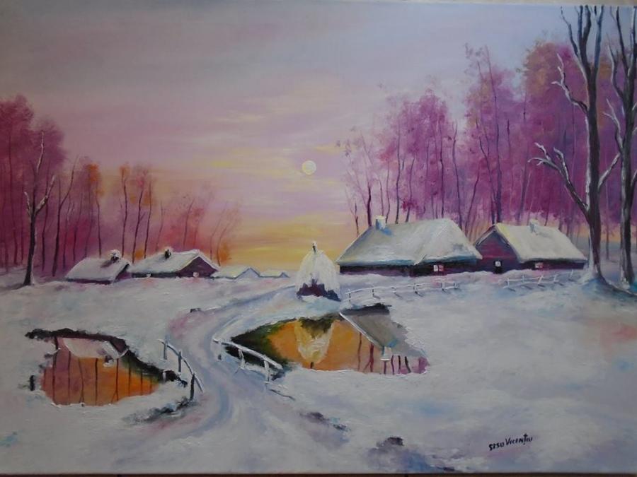 Picturi de iarna iarna de poveste 2