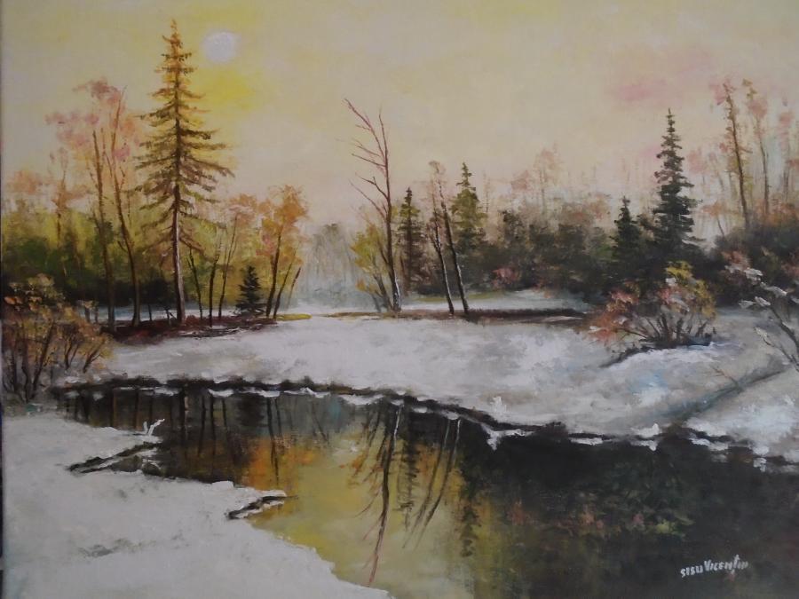 Picturi de iarna inceputul ierni ...