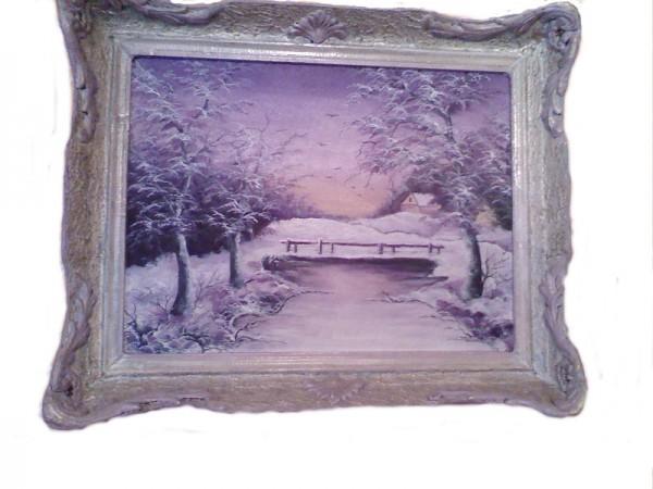 Picturi de iarna Iarna la pirtestii de jos