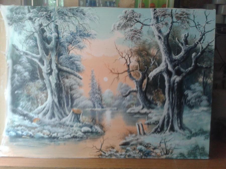 Picturi de iarna iarna 17