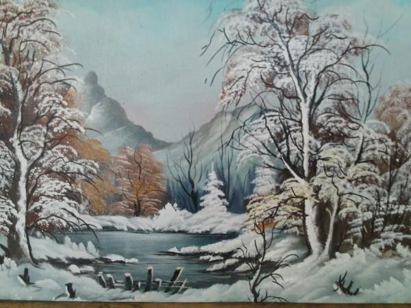 Picturi de iarna Iarna grea