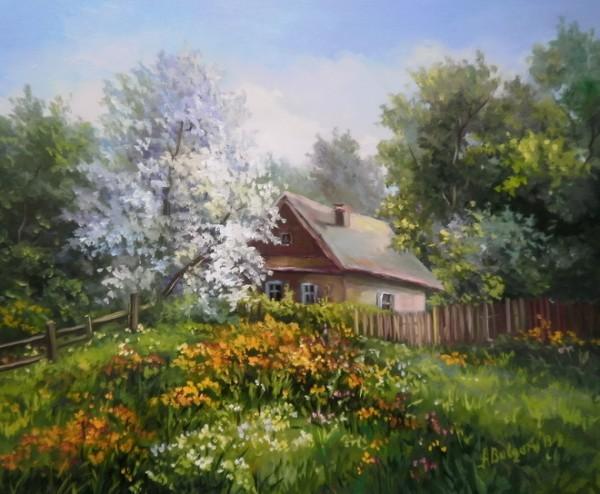 Picturi de primavara Amintiri reinflorite