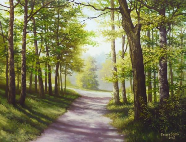 Picturi de primavara Lumina diminetilor de mai