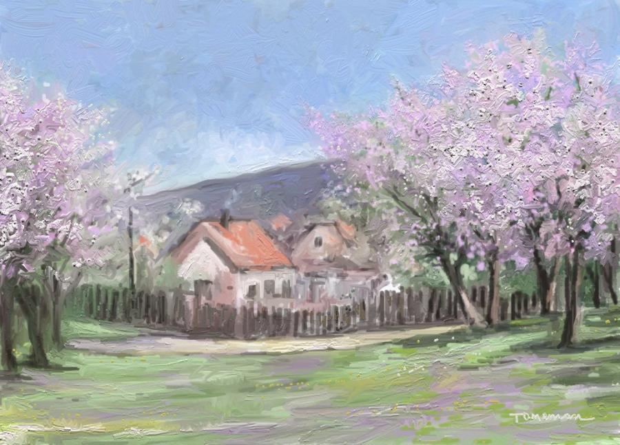 Picturi de primavara aprilie in floare 4