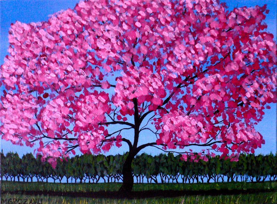 Picturi de primavara Pink