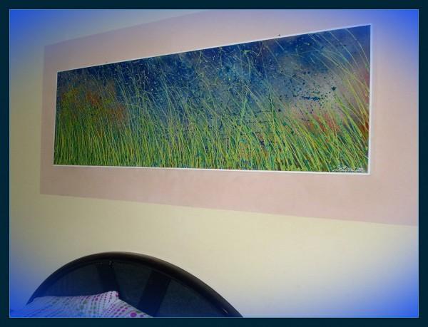 Picturi de primavara Furtuna in iarba la asfintit