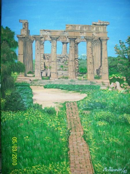 Picturi de primavara Templul selinunte