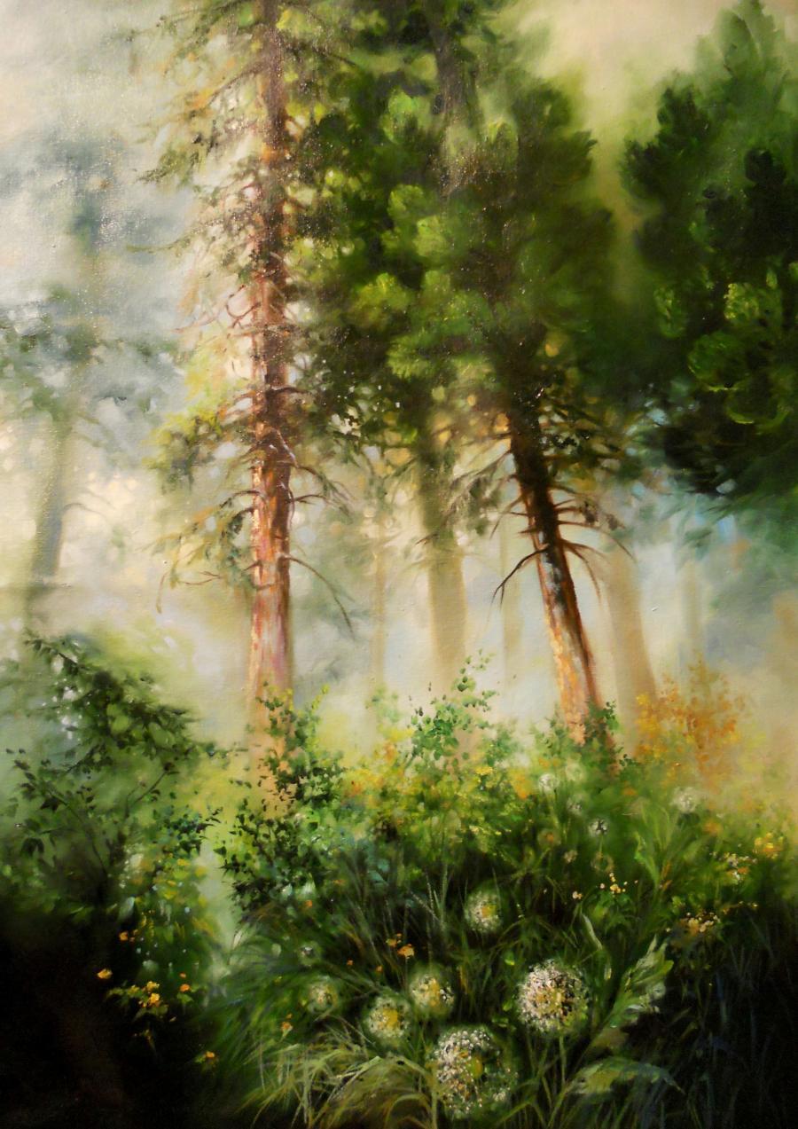 Picturi de primavara wild forest
