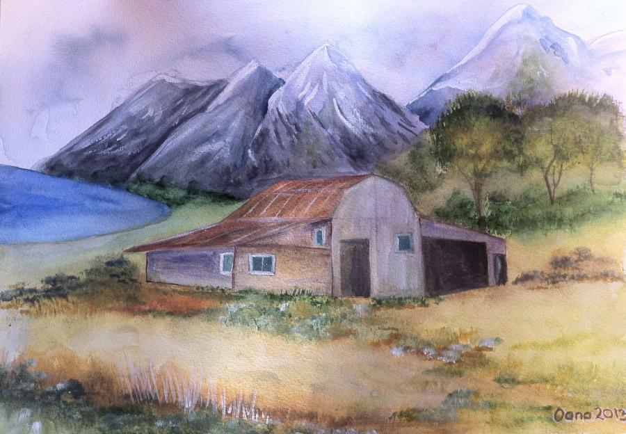 Picturi de toamna Natura linistita