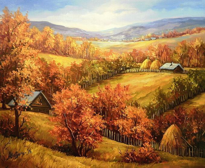 Picturi de toamna FOCUL TOAMNEI