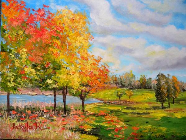 Picturi de toamna Toamna in culori