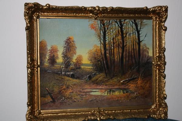 Picturi de toamna Peisaj de toamna