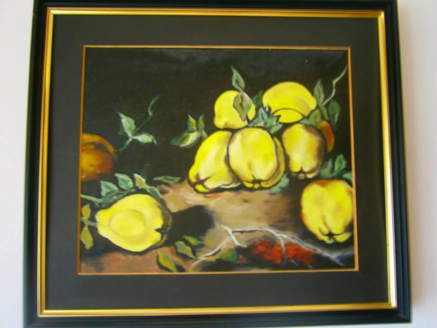 Picturi de toamna gutui amarui