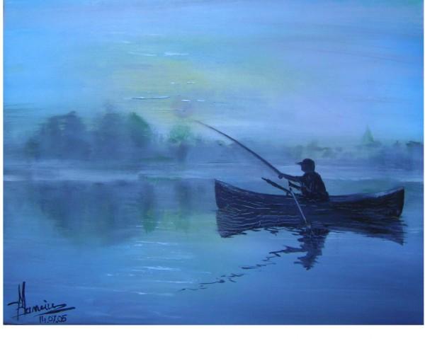 Picturi de toamna In zori
