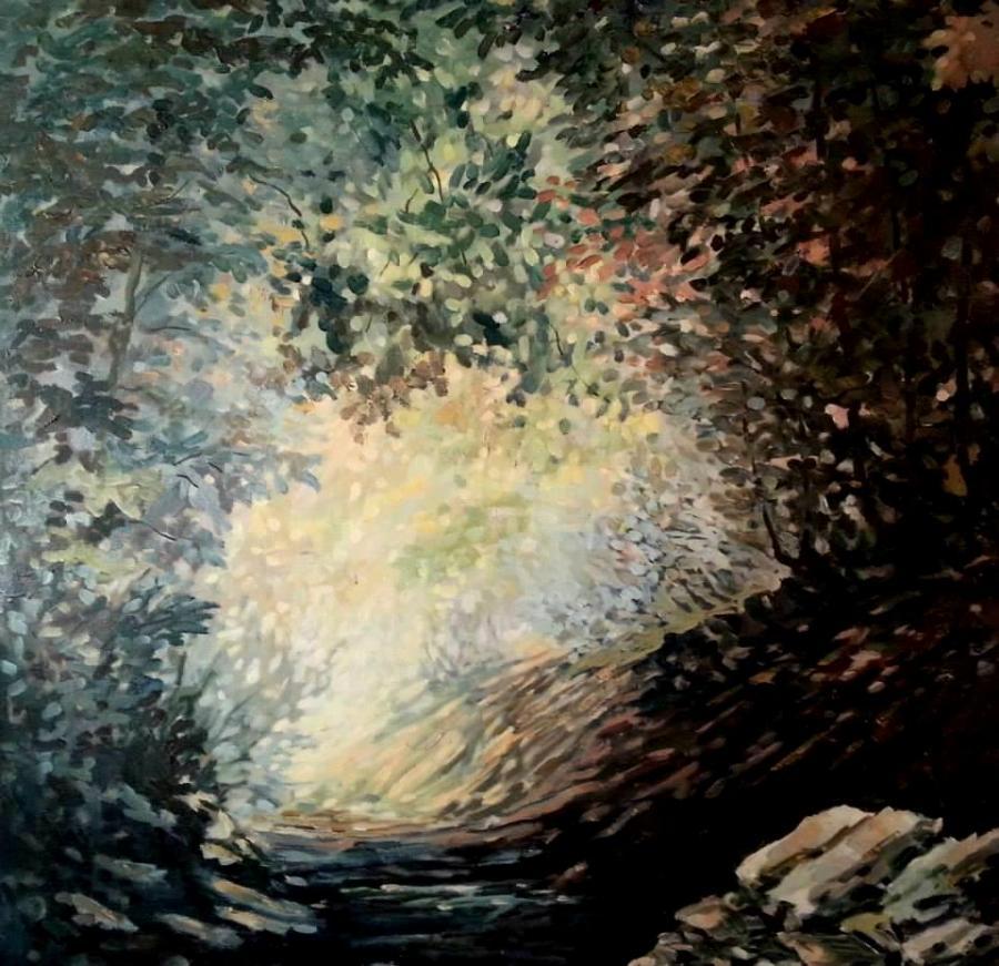 Picturi de toamna lumina pe vale