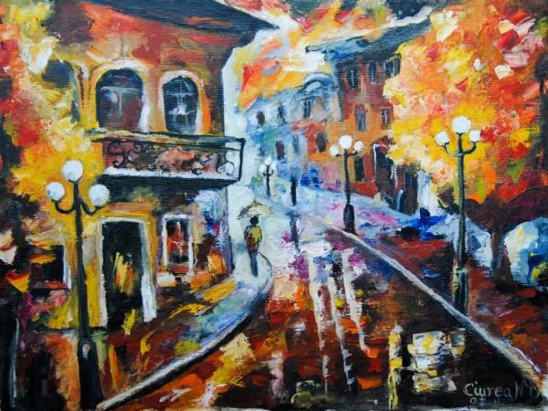 Picturi de toamna Pe strazile orasului