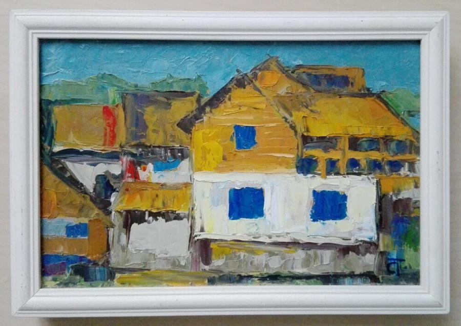 Picturi de toamna intre case