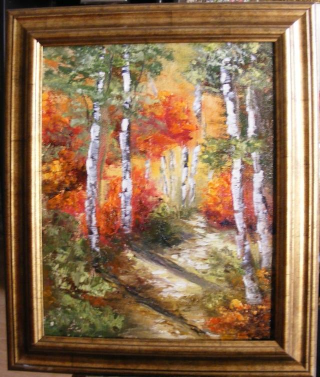 Picturi de toamna Focuri in toamna