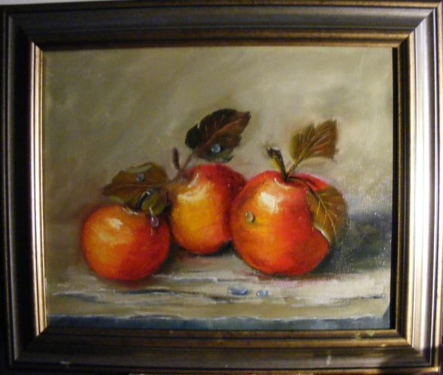 Picturi de toamna Fructe rosii