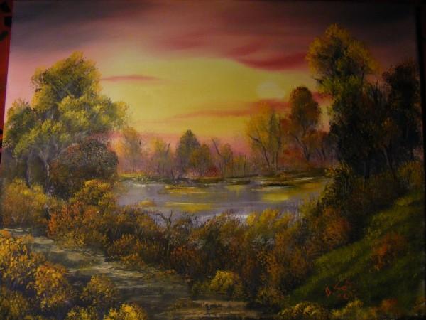 Picturi de toamna Iazul in toamna