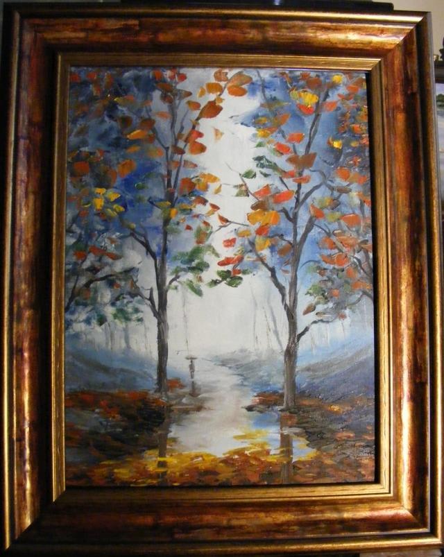 Picturi de toamna Se lumineaza a ploaie